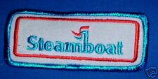 STEAMBOAT COLO SKI AREA SNOWBOARD PATCH NEW IRON ON