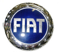 Fiat Blue Grille Badge For The Fiat Grande Punto 46832366 Brand New, Genuine