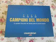 GAZZETTA DELLO SPORT BOX COFANETTO CAMPIONI DEL MONDO