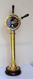 Brass ship engine room 29 inches telegraph home decorative Chadburns Liverpool &