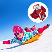 Children Ski Gloves Winter Snow Kids Outdoor Warm Girls Boys Sports Snowboard