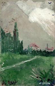 "Landscape Near Figueras 1910 Signed Salvador Dali - 17""x22"" Fine Art Print-00926"