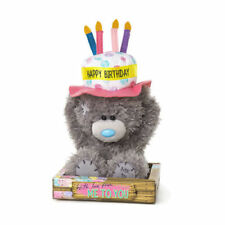 Me to You Tatty Teddy Bear With A Happy Birthday Cake Hat
