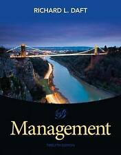Management 12e by Richard L. Daft 12th (3 Days to AUS)
