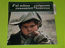 45 tours EP - BOF - J'AI MEME RENCONTRE DES TZIGANES HEUREUX  - 1967 - LANGUETTE