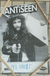 Antiseen Southern Hostility Promo poster 24 x 33 Black and white