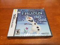 Disney Frozen: Olaf's Quest (Nintendo DS, 2013) BRAND NEW