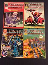 Transformers Megaton Optimus Prime Marvel Magazine Comic Book Lot Fine 4 93 - 99