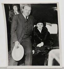 1931 Knute Rockne, Notre Dame Legend, & Mother, Orig Photo, Possibly Last Image