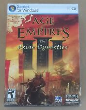 Collectible Video Game Age Of Empires The Asian Dynasties Expansion Pack 2007
