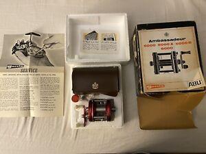 Vintage Abu Garcia Ambassadeur 5000 New In Original Box From 1970 Sweden