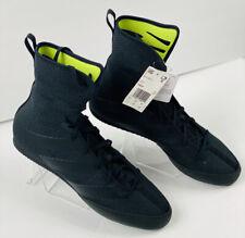 adidas Box Hog 3 Mens Boxing Shoes Triple Black Boxing Boots F99921 Size 13