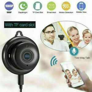 Wireless Wifi Spy Nanny Cam Home security covert Camera HD DVR Night Vision HD