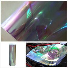 "12""x84"" Chameleon Clear Color Car Headlight Taillight Fog Light Vinyl Tint Film"