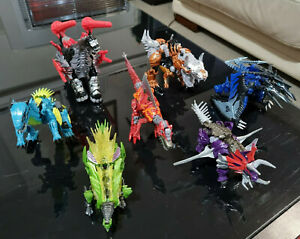 Transformers Age of Extinction Dinobot collection Grimlock and co