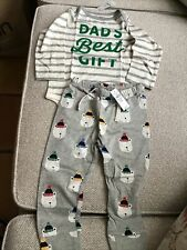 Baby Gap Long Sleeve Dads Best Gift Pajama 18-24 Months BOYS