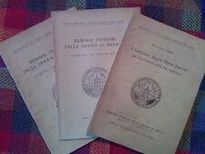 MEMORIE STORICHE DELLA DIOCESI DI BRESCIA - annata completa 1950  sotto i titoli