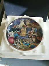 1997 Frisky Business Collector Plate by Jurgen Scholz - The Bradford Exchange