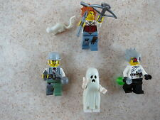 LEGO Monster Fighters Ann Lee Major Quinton Steele Crazy Scientist Glued Read Ad