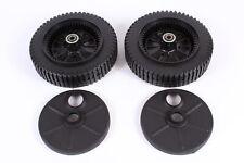"""2 Pack Genuine Husqvarna 532193139 9"""" Self Propel Wheel Fits Craftsman 193139"""