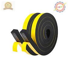 Foam Tape 2 Rolls 1 Inch Wide X 3/4 Inch Thick Adhesive Foam Padding