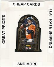 2014 CROWN ROYALE Air To Throne Red  PEYTON MANNING & JOHNNY MANZIEL (Broncos)