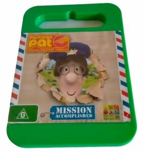 Postman Pat Special Delivery Service Mission Accomplished DVD ABC For Kids Reg 4