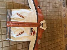 Schott Leather Varsity Coat. 2XL