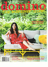 DOMINO MAGAZINE BRING YOUR STYLE HOME,  SUMMER, 2015 ( BOLD BEAUTIFUL BLOSSOMS )