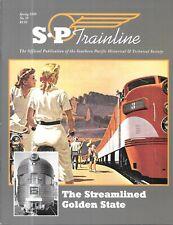 SP Trainline #59 1999 The Streamlined Golden StateGolden Rocket Diesel Power