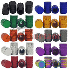 4 x Wheel Tyre Tire Valve Stem Air Dust Cover Screw Cap Car Truck Bike 10 colors