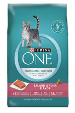 Purina ONE Natural Dry Cat Food; Tender Selects Blend With Real Salmon - 16 lb.