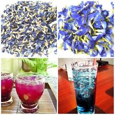 Dried butterfly pea flower tea thai herb natural  healthy blood drink 50g