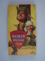 The Adventures of Robin Hood VHS Errol Flynn, Olivia de Havilland