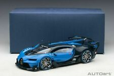 Autoart BUGATTI VISION GRAN TURISMO LIGHT BLUE RACING/BLUE CARBON 1:18 New Item*