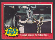 Topps Star Wars - Series 2 1977 - # 23A Special Mission for Artoo-Detoo