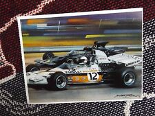 F1 POSTCARD - 1972 KYALAMI GRAND PRIX - DENNY HULME MCLAREN - MICHAEL TURNER