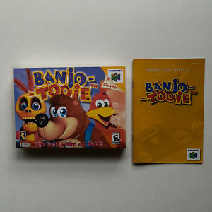 Instruction Manual Only - Banjo Tooie (Nintendo 64 N64) - Authentic Booklet