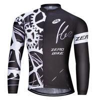Men's Cycling Clothing Bicycle Jersey Sportswear Long Sleeve Mtb Bike Top Shirt