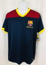 Men's Fcb Barcelona Soccer Football S/S Official Shirt Large