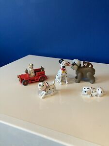Disney & McDonald's Figures bundle cake toppers vintage 101 Dalmatians dogs