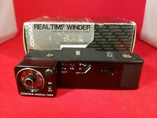 Contax Real Time Winder and RARE Interval Timer New Old Stock fits RTS