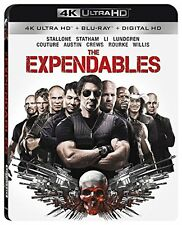 THE EXPENDABLES    (4K ULTRA HD) - Blu Ray -  Region free