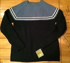 GREEN DOG BLUE SWEATER  BOYS M 12/14 , NEW WITH TAGS!