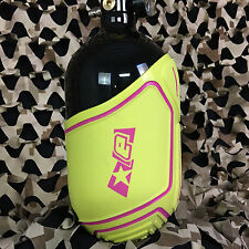 New Planet Eclipse Paintball Tank Cover - Small (45ci & 50ci) - Gold/Pink