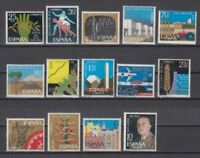 SPANIEN (1964) NUEVO MNH SPAIN - EDIFIL 1576/89 Sc# 1225/38 XXV AÑOS PAZ