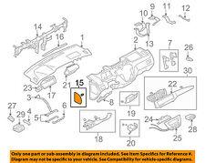 MITSUBISHI OEM Lancer Instrument Panel Dash-Dashboard Side Cover Left MR626744