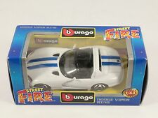 [PH3-30] BBURAGO BURAGO 1/43 STREET FIRE #4130 DODGE VIPER RT/10 BIANCO NIB