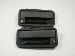 EXTERIOR DOOR HANDLE PAIR 1995-99 Chevy GMC C/K SILVERADO SIERRA 1500 2500 3500