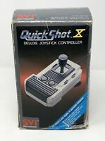 SVI Quickshot X Deluxe Joystick Controller For Apple II & Apple + NOS/New ? Read